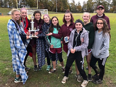 Central MA XC 2018 Girls Trophy Winners 3