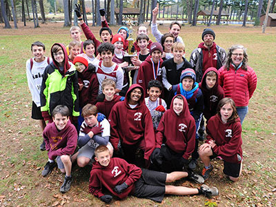 Western MA XC 2018 Boys Trophy Winners