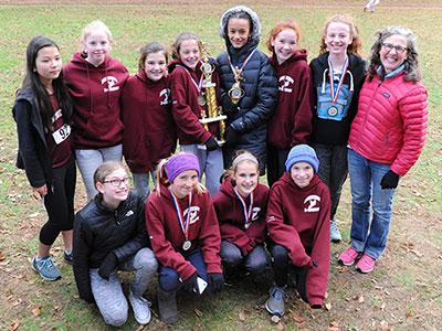 Western MA XC 2018 Girls Trophy Winners